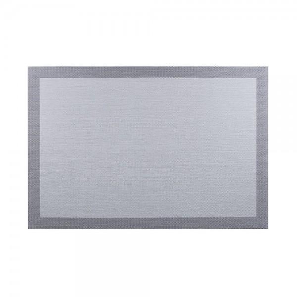 Alfombra living style gris-negro 60x90cm cintacor